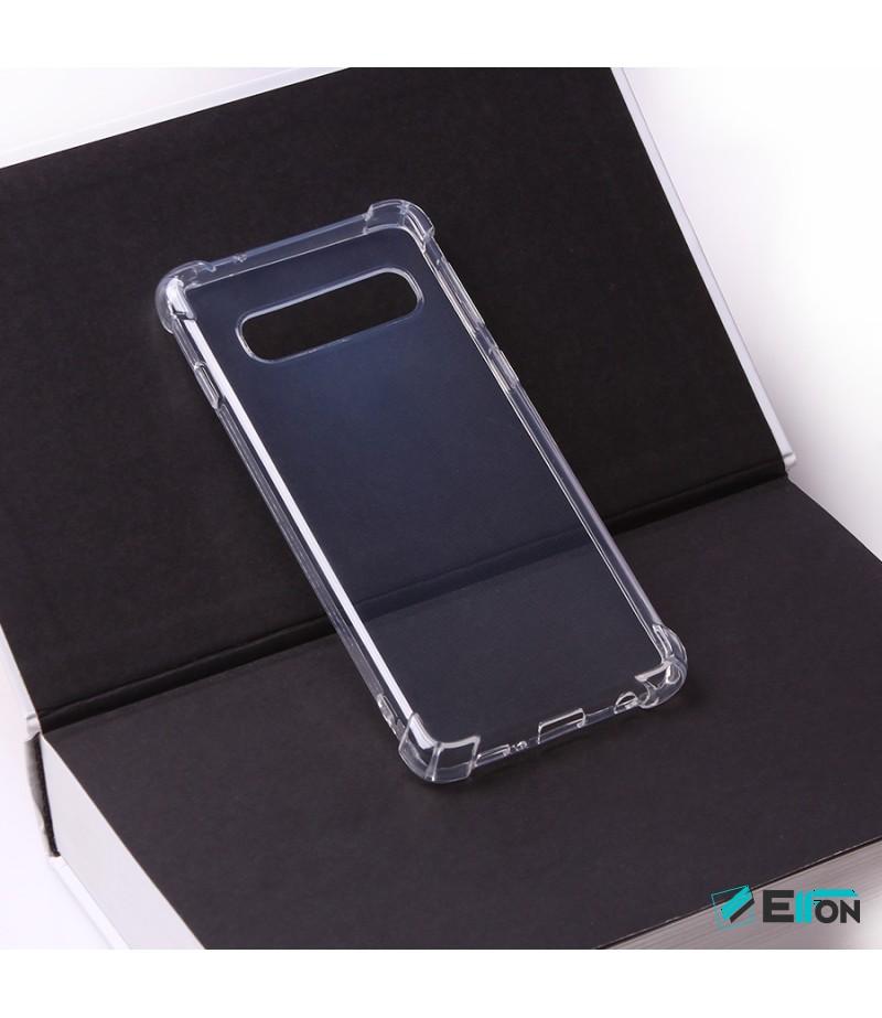 Elfon Drop Case TPU Schutzhülle mit Kantenschutz für Samsung Galaxy S10 E, Art.:000228