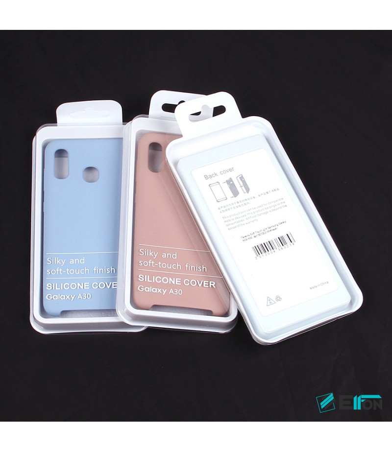 Soft touch Full Silicone Case für Galaxy A20/ A30, Art.:000537