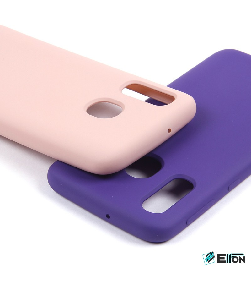 Soft touch Full Silicone Case für Galaxy A40, Art.:000537