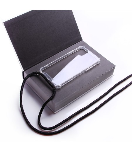 Crossbody-Handykette (with Silver Accessories) für iPhone 11 Pro, Art:000593