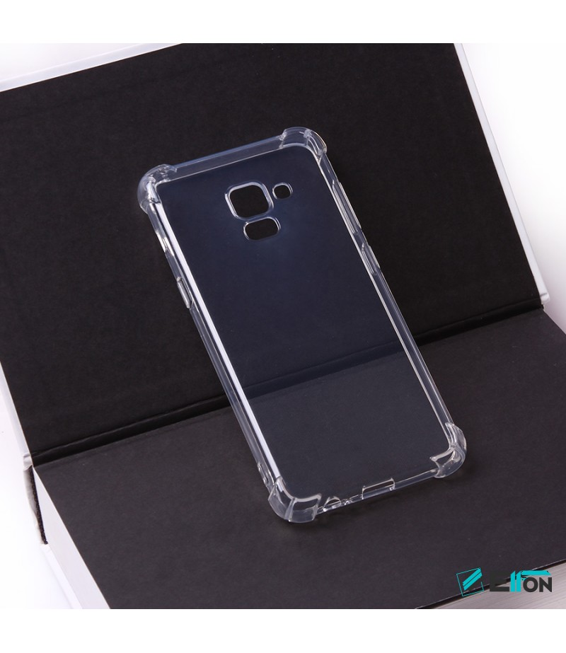 Elfon Drop Case TPU Schutzhülle mit Kantenschutz für Samsung Galaxy A5/A8 (2018), Art.:000228