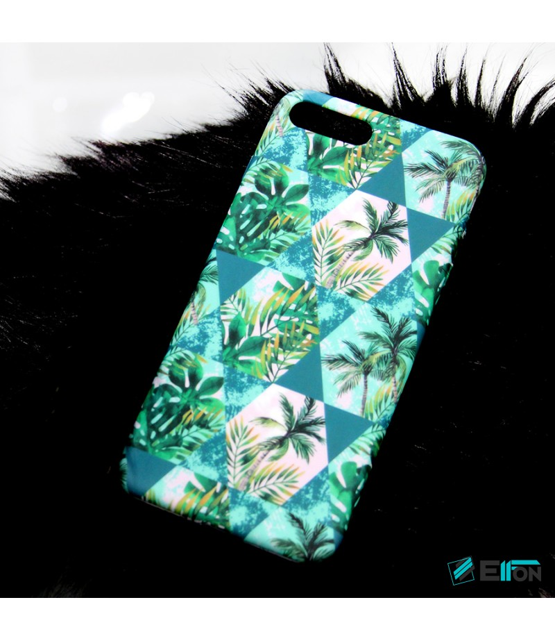 Geometrical Tropical Leaves Night Glow Case für Samsung S8, Art.:000373