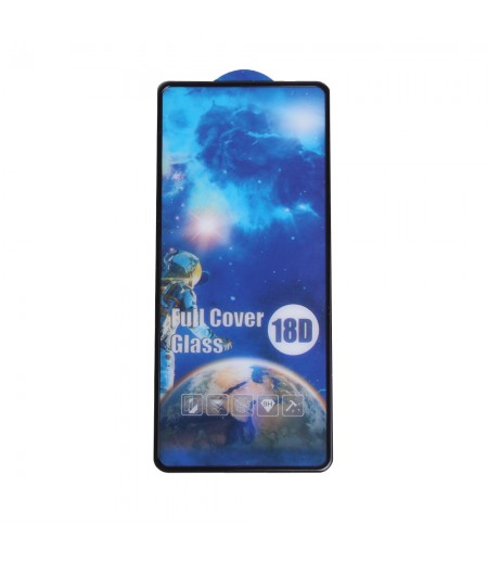18D Full Glue Tempered Glass Screen Protector für Huawei P Smart 2021, Art:000827