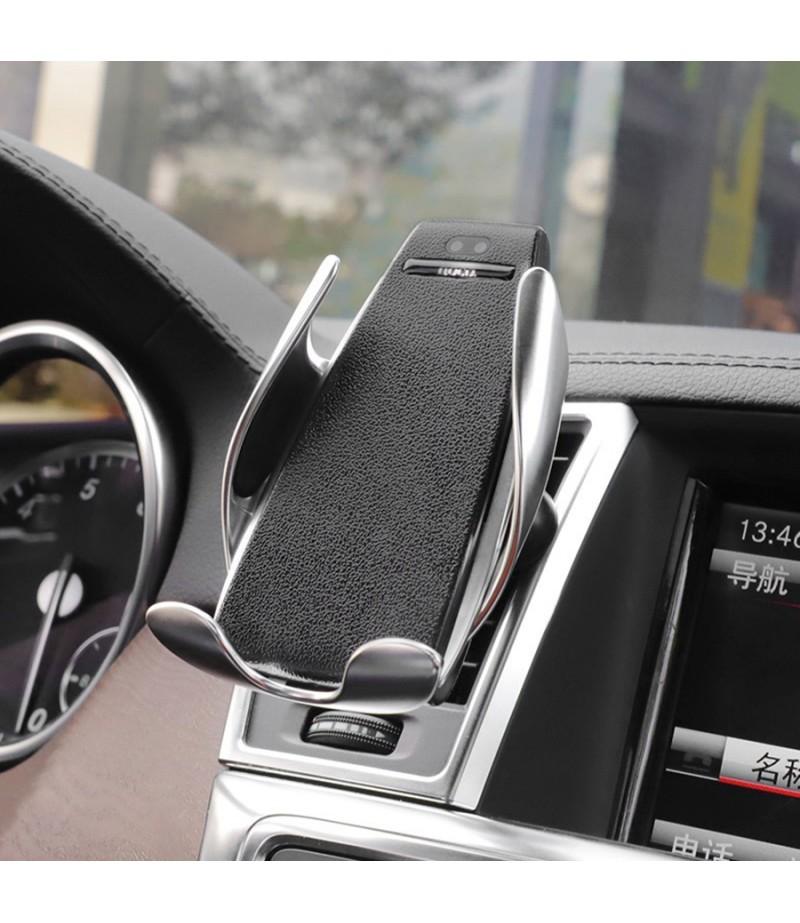 Hoco CA34 Elegant Automatic Induction Wireless Car Charging Holder, Art.:000532