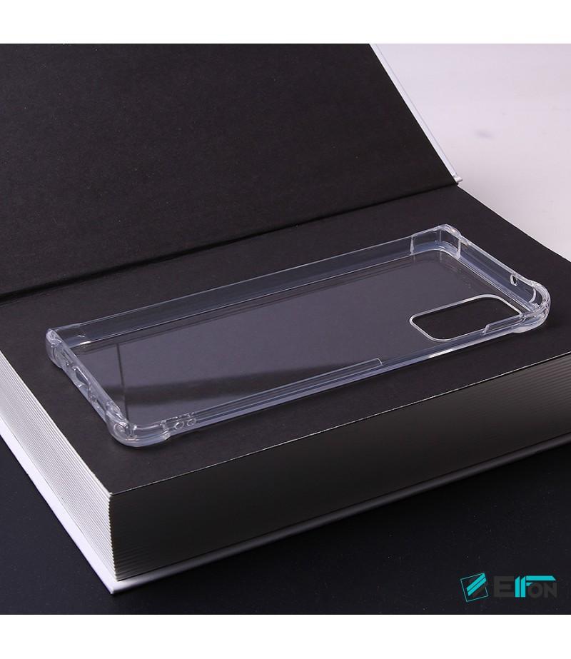 Premium Elfon Drop Case TPU+PC hart kratzfest kristallklar für Samsung S20, Art:000099-1