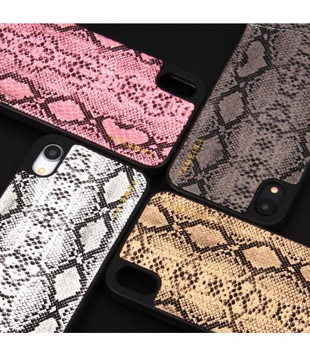 Snake Skin Cross-body Chain Case für iPhone XR (6.1), Art.:000007