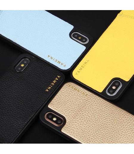 Microfiber Leather Cross-body Chain Case für iPhone X/XS, Art.:000008