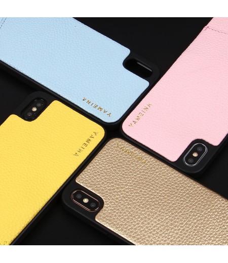 Microfiber Leather Cross-body Chain Case für iPhone XS Max (6.5), Art.:000008