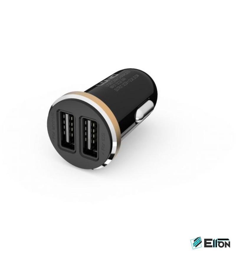 LDNIO® DL-C22 KFZ-Ladegerät inklusive Lightn.kabel 2.1A, Art.:000089