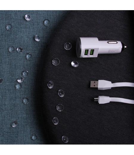 LDNIO® DL-C29 2-fach KFZ-Ladegerät inklusive Micro USB-Kabel 3.4A, Art.:000088