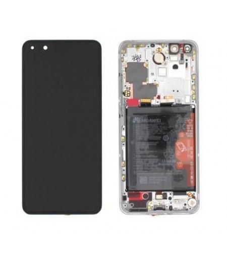 Huawei P40 Display and Digitizer White