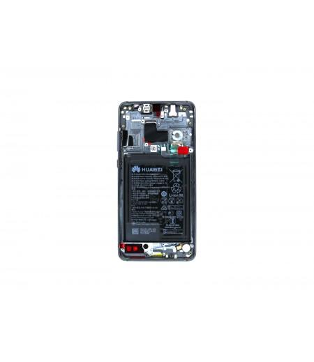 Huawei Mate 20 Display and Digitizer Black (Service-Pack)