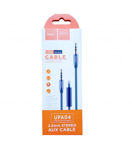 Hoco UPA04 Noble sound series AUX audio cable (with mic), Art.:000788