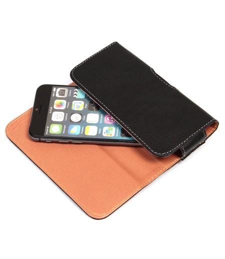 Universal Handy Gürteltasche mit Stahlclip für 5.0' Smartphones, Art:000645