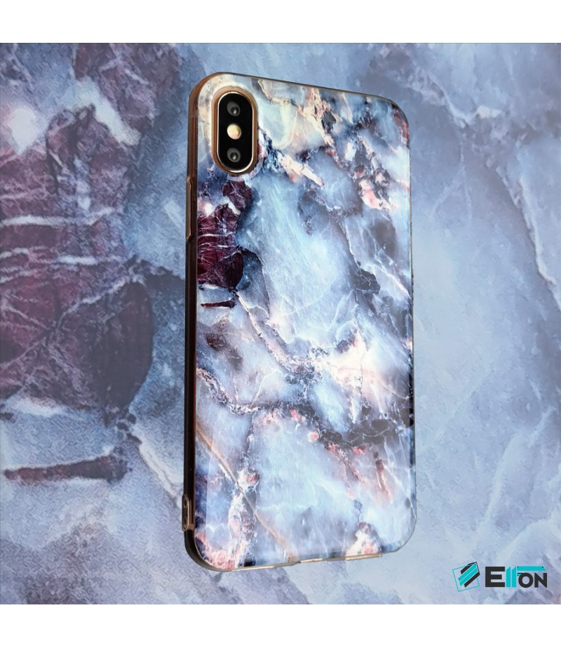 Purple-Grey Amethyst Marble Print Case für Samsung S9 Plus, Art.:000366