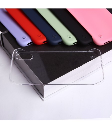 Soft Touch Slim Hard Case Cover für iPhone X/XS, Art:000589