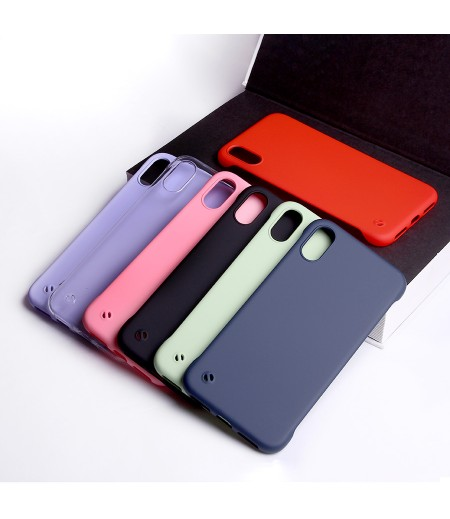 Soft Touch Slim Hard Case Cover für iPhone XR, Art:000589