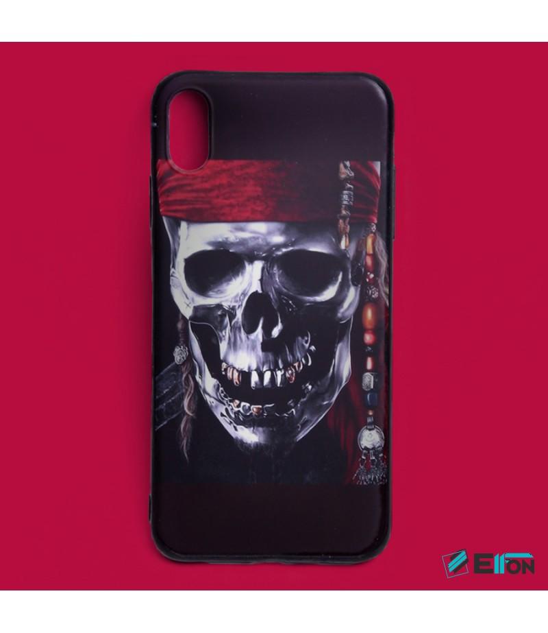 Matt Pirate Skull Print Case für Samsung Galaxy S9, Art.:000447