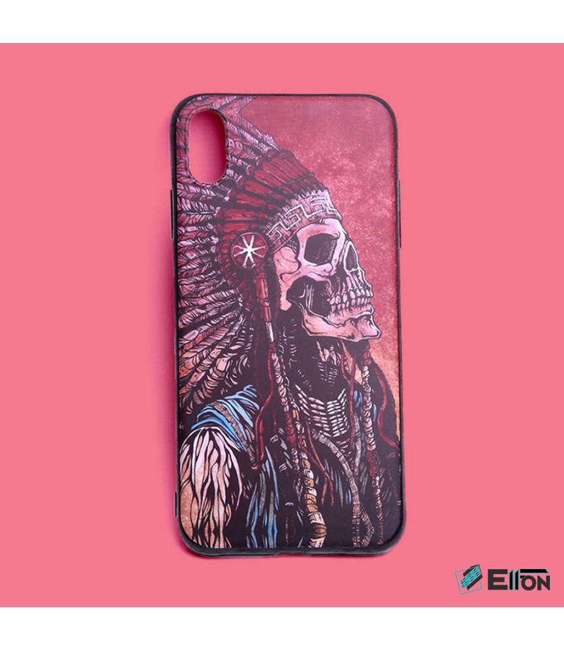 Matt Indian Skull Print Case für Samsung Galaxy S8, Art.:000449