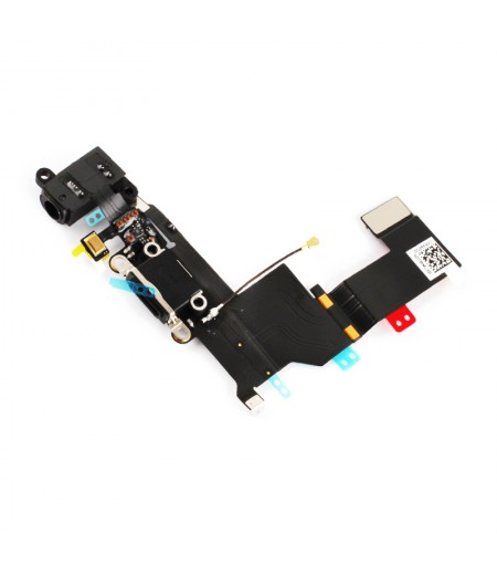 For iPhone 5S System Connector Flex Black, SKU: APIPH5S310