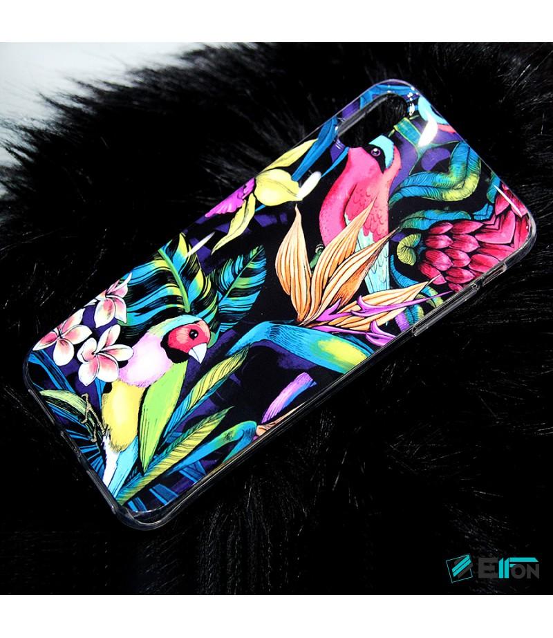 Tropical Birds Print Case für Samsung S8 Plus, Art.:000362