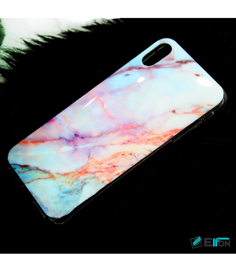 Pink Rococo Marble Print Case für Samsung S9 Plus, Art.:000363