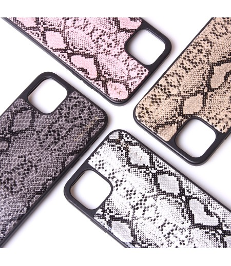 Snake Skin Cross-body Case mit Band für iPhone 11, Art.:000007