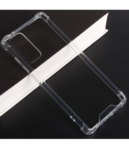 Vorpräparierte Hülle mit LöchernTPU+PC hart kristallklar für Samsung Galaxy A02S, Art.:000004