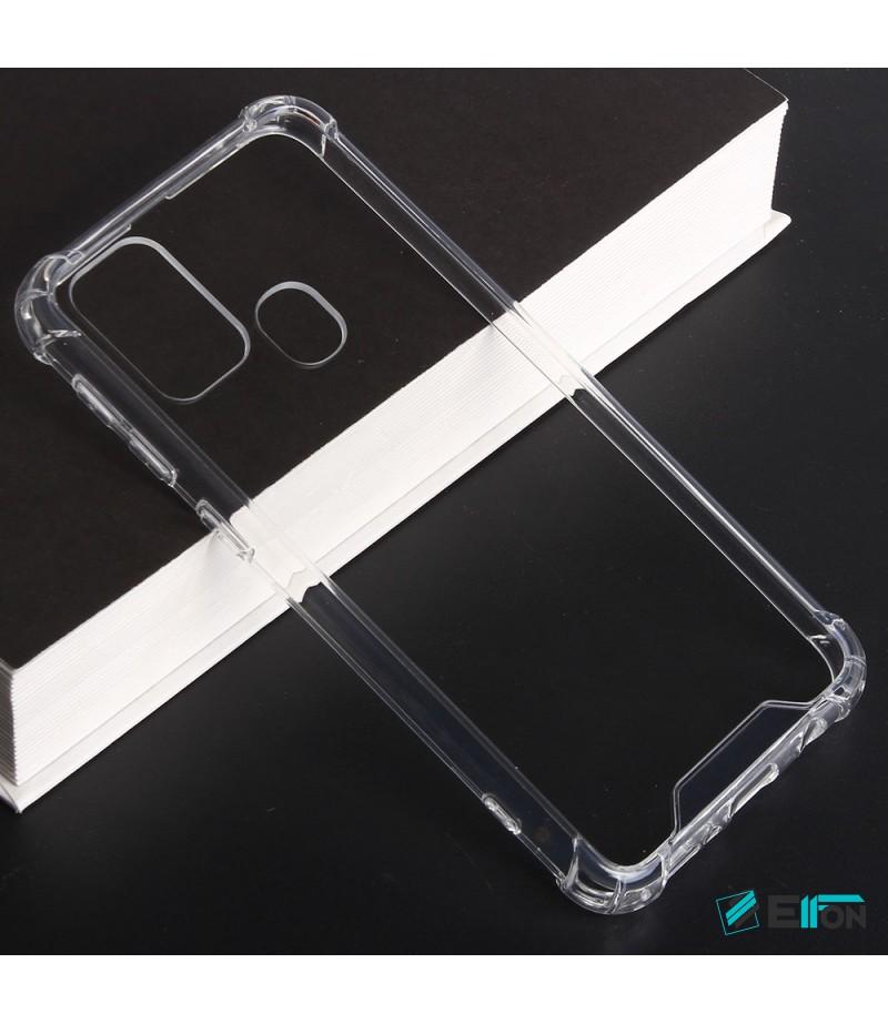 Vorpräparierte Hülle mit LöchernTPU+PC hart kristallklar für Samsung Galaxy M31, Art.:000004