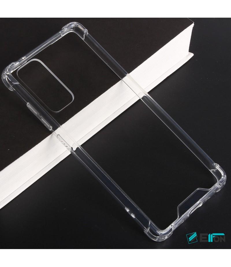 Vorpräparierte Hülle mit LöchernTPU+PC hart kristallklar für Samsung Galaxy S20 FE, Art.:000004