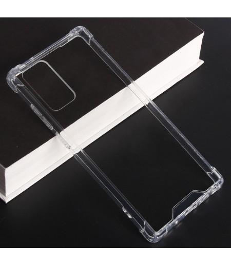 Vorpräparierte Hülle mit LöchernTPU+PC hart kristallklar für Samsung Galaxy Note 20, Art.:000004