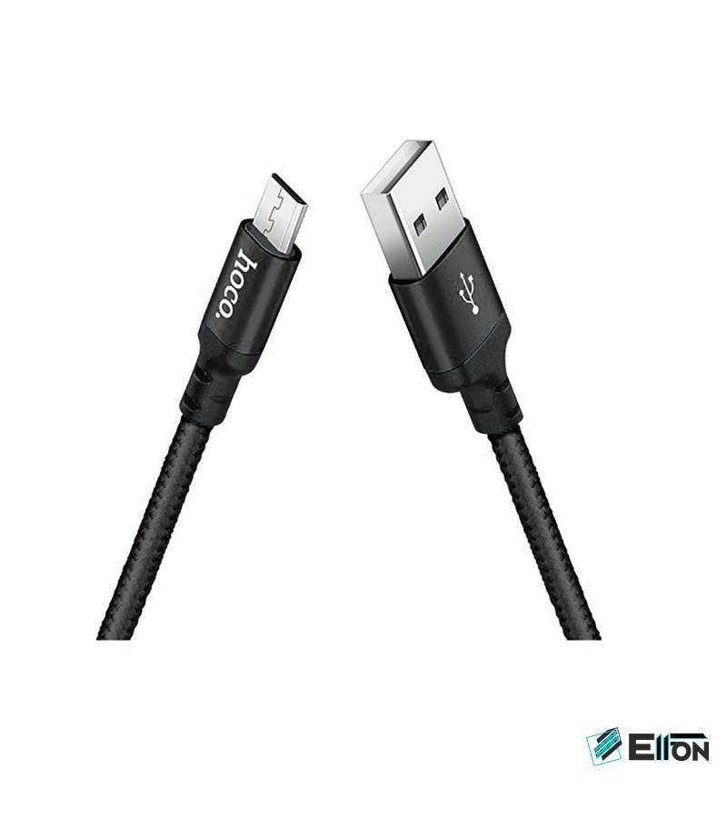Hoco X14 Lade Kabel für Micro 2.4A 1m, Art.:000092
