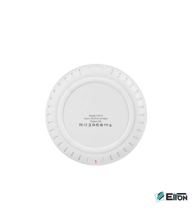 Hoco CW14 Round Drahtloses Ladegerät/ Wireless Charger, Art.:000408