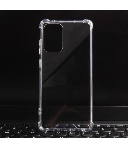 Vorpräparierte Hülle mit LöchernTPU+PC hart kristallklar für Samsung Galaxy A52, Art.:000004