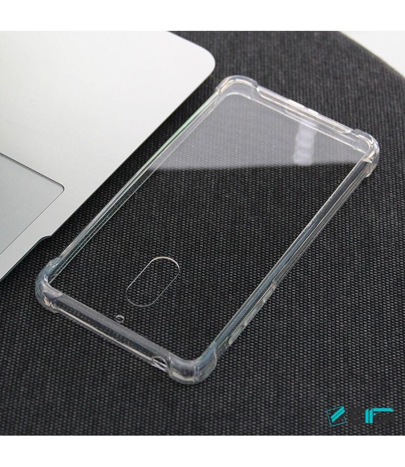 Elfon Drop Case TPU Anti-Rutsch Kratzfest Crystal (1mm) für Nokia 6, Art.:000308
