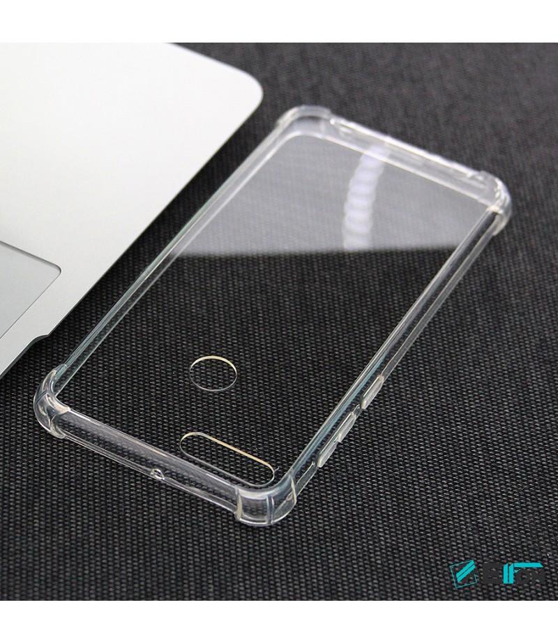 Elfon Drop Case TPU Anti-Rutsch Kratzfest Crystal (1mm) für Huawei Y9 2018, Art.:000308