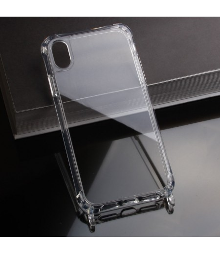 Elfon Transparent Dropcase mit Clear Ring für iPhone XR, Art.: 000802