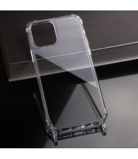 Elfon Transparent Dropcase mit Clear Ring für iPhone 12 Pro Max (6.7), Art.: 000802