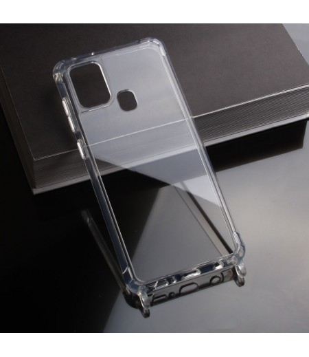 Elfon Transparent Dropcase mit Clear Ring für Samsung Galaxy A21S, Art.: 000802