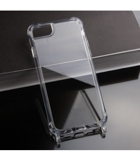 Elfon Transparent Dropcase mit Clear Ring für iPhone SE (2020), Art.: 000802
