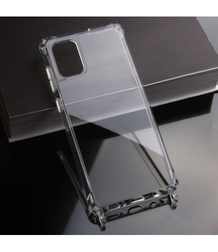 Elfon Transparent Dropcase mit Clear Ring für Samsung Galaxy A31, Art.: 000802