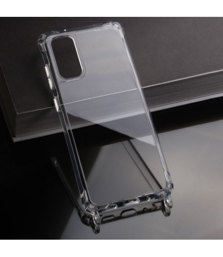 Elfon Transparent Dropcase mit Clear Ring für Samsung Galaxy S20 Plus, Art.: 000802