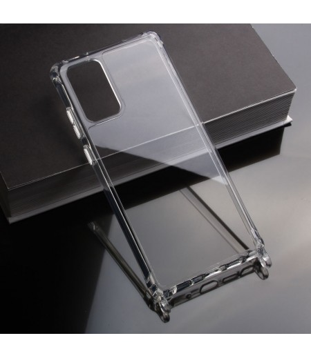 Elfon Transparent Dropcase mit Clear Ring für Samsung Galaxy Note 20, Art.: 000802