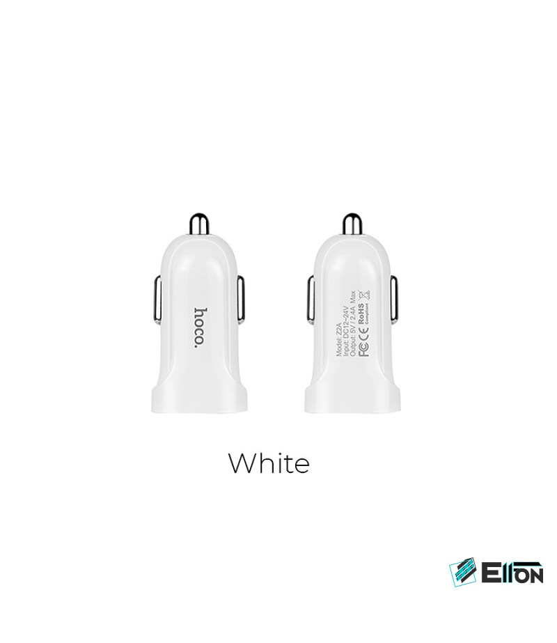 Hoco Z2 Car Charger Set with Mico Cable, Art.:000421