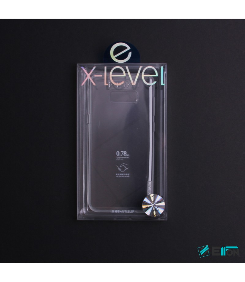 Soft TPU Anti Slip Clear Back Cover für Samsung Galaxy S8 Plus, Art.:000106