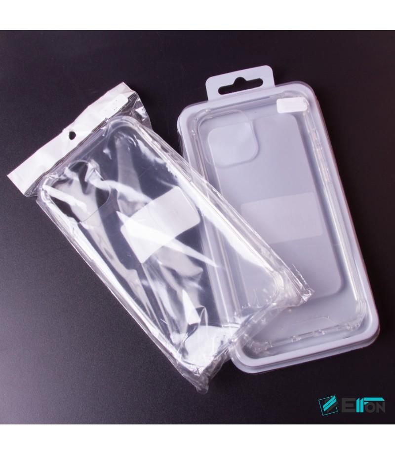 Vorpräparierte Hülle mit LöchernTPU+PC hart kristallklar für Samsung Galaxy A20, Art.:000004
