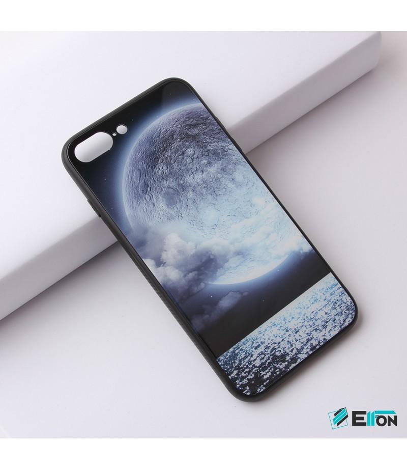 Glascase mit Musteraufdruck (Mond) für Samsung S9 Art.:000216
