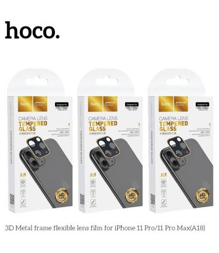 Hoco 3D Metal frame flexible lens film für iPhone 11 (A18), Art.:000707