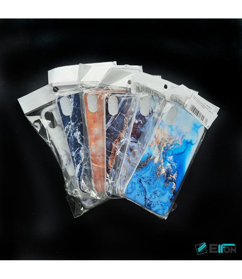Warm Amber Marble Print Case für Samsung S9 Plus, Art.:000367