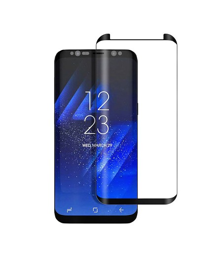 Mini Curved Screen Protector (Side-Glue) für Galaxy S8, Art.:000102-2